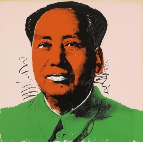 Andy Warhol - Mao