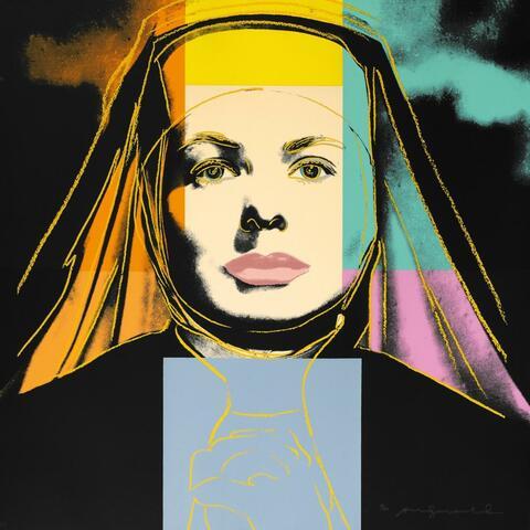 Andy Warhol - Ingrid Bergman