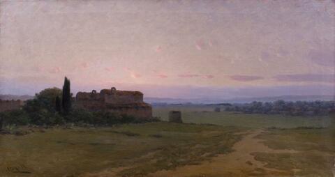Modesto Urgell Y Inglada - WIDE LANDSCAPE