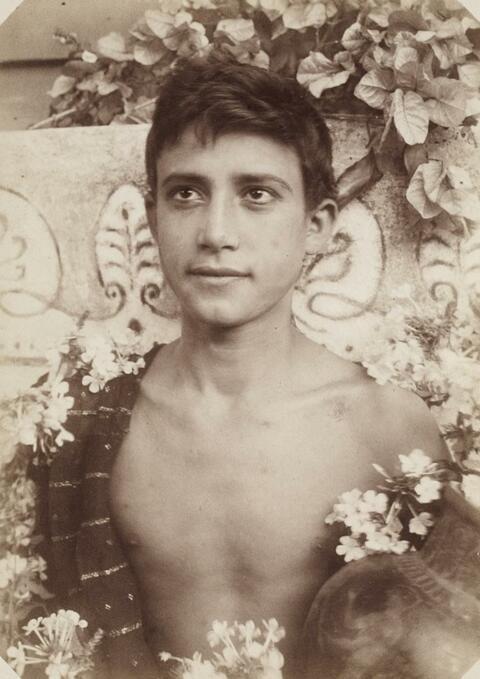 Wilhelm von Gloeden - Knabenportrait. Mädchenportrait.
