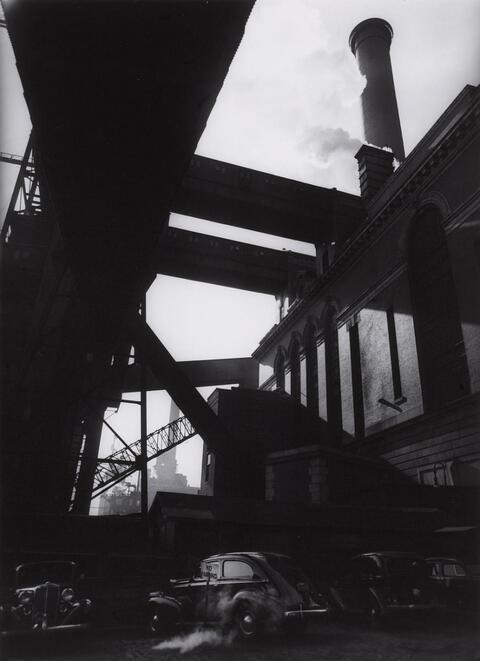 Berenice Abbott - Consolidated Edison Power House, New York