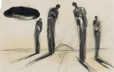 Enzo Cucchi - Untitled