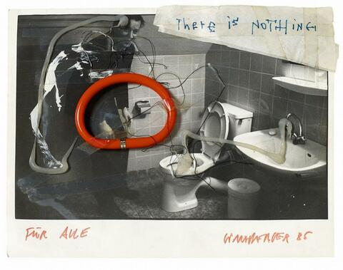 Martin Kippenberger - Ohne Titel (There is nothing)