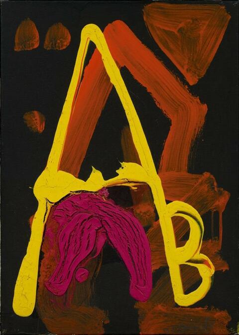 A.R. Penck - AB 1