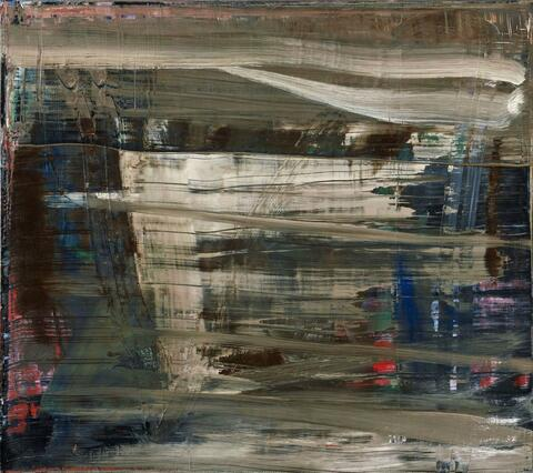 Gerhard Richter - Abstraktes Bild (abstract painting)