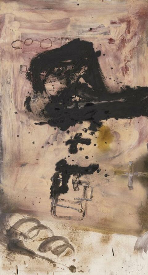 Antoni Tàpies - Pols de marbre (Marble Dust)