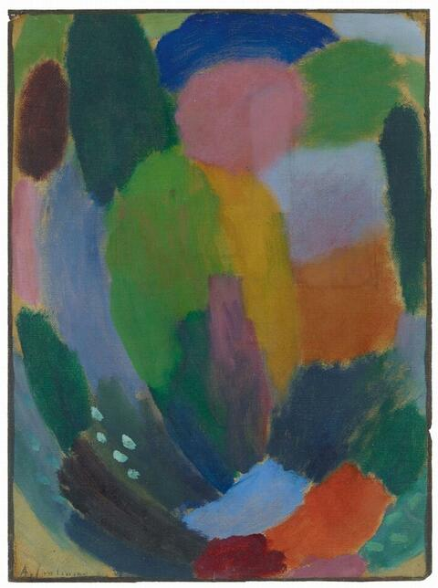 Alexej von Jawlensky - Variation: Song