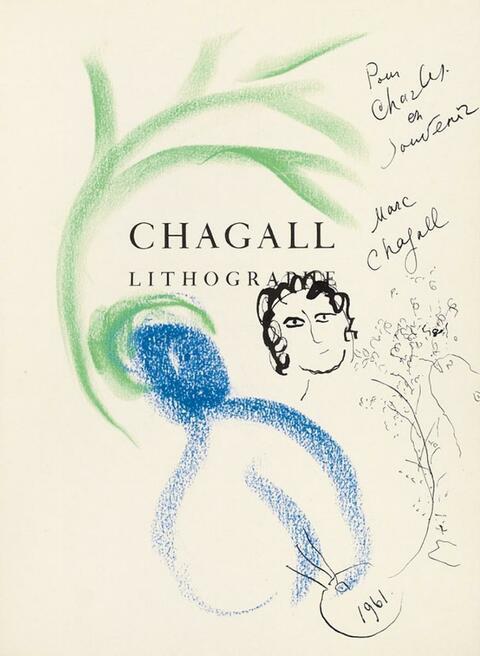 Marc Chagall - Lithograph I