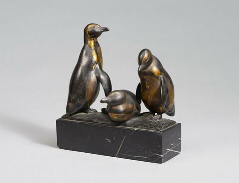 August Gaul - Drei Pinguine