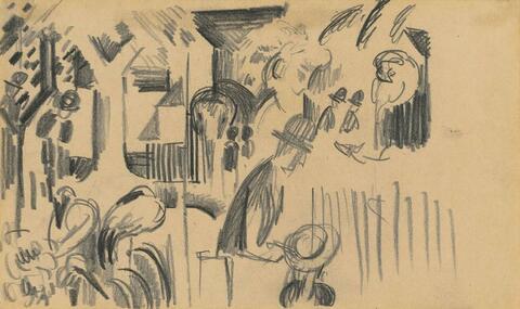 August Macke - Studie zum Zoologischen I