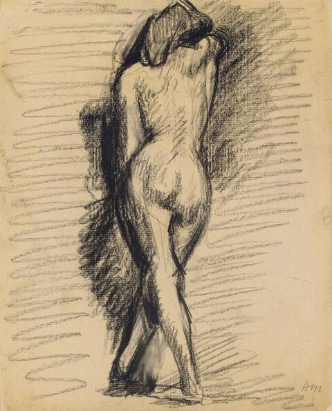 Henri Matisse - Weiblicher Rückenakt (Female Nude from Behind)