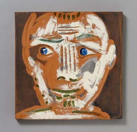 Pablo Picasso - Visage d'Homme