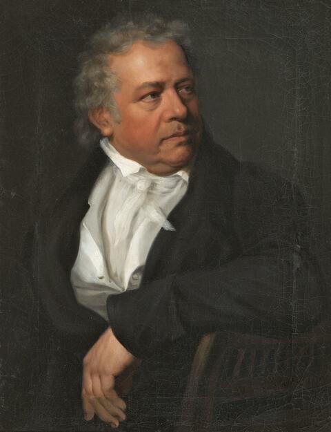 Johann Friedrich Carl Kreul, zugeschrieben - BILDNIS EINES HERRN (JOHANN LORENZ KREUL?)
