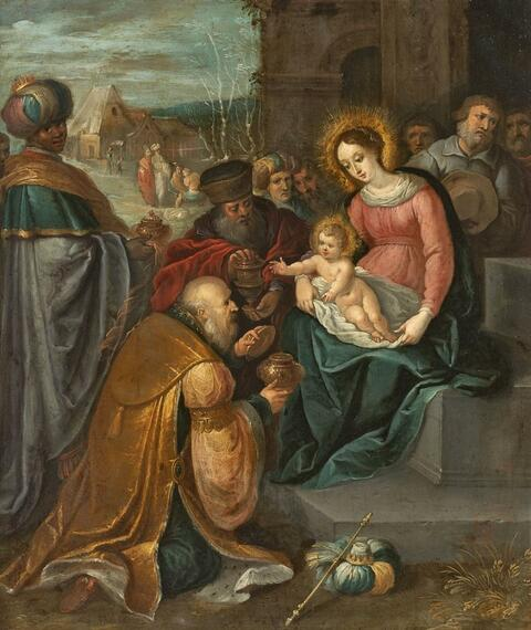 Frans Francken the Younger, circle of - ADORATION OF THE MAGI