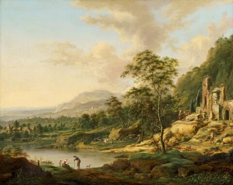 Johann Christian Vollerdt - ITALIAN LANDSCAPE
