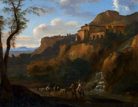 Cornelis van Poelenburgh - LANDSCHAFT BEI TIVOLI