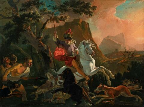 Abraham Hondius - AUF DER JAGD