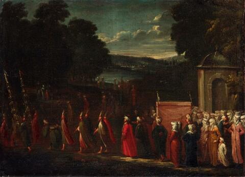 Jean Baptiste Vanmour - OSMAN MARRIAGE