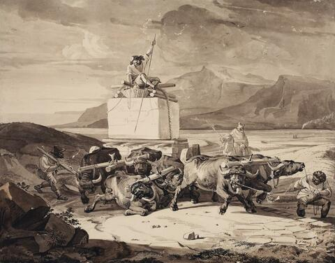Friedrich Nerly - THORVALDSEN A ROMA