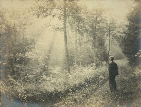 Léonard Misonne - Morgendlicher Spaziergänger (Selbstportrait)