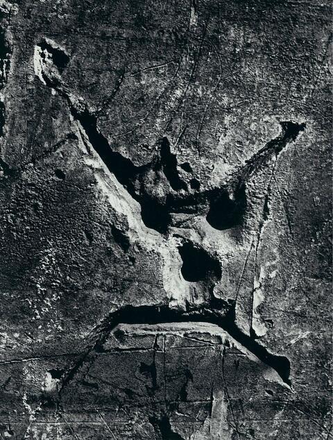 """Brassaï (Gyula Halász) - Graffiti, """"Der Tod"""""""