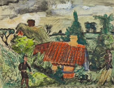 Erich Heckel - Bauernhaus