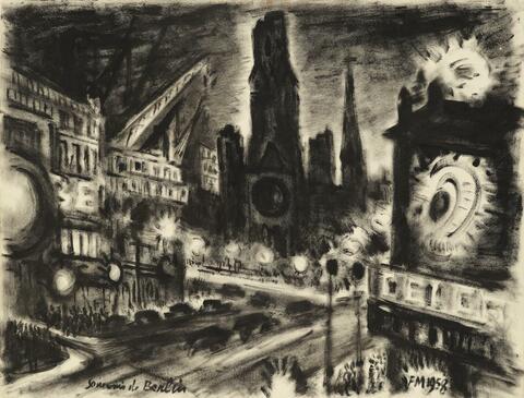 Frans Masereel - Souvenir de Berlin