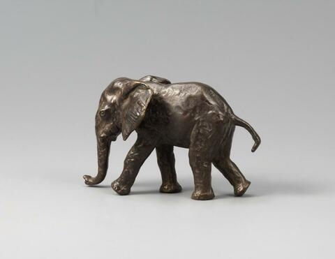 Renée Sintenis - Junger Elefant - Gehender Elefant (Young Elephant - Striding Elephant)