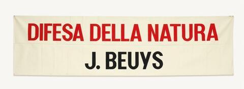 Joseph Beuys - Difesa della natura