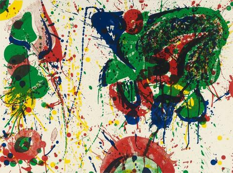 Sam Francis - For Miró