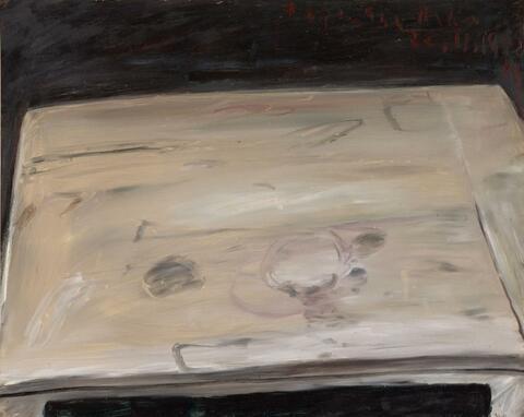 Klaus Fußmann - Ohne Titel (Tisch) / Untitled (Table)