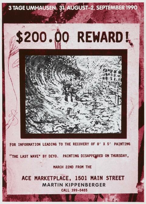 Martin Kippenberger - Ohne Titel (Plakate)