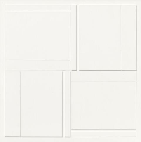 Alan Reynolds - Study for no 10 (Structure-Group II)
