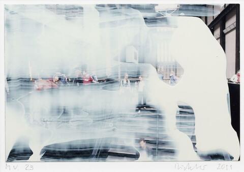 Gerhard Richter - Ohne Titel (Museum Visit)