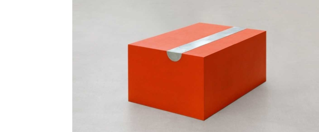 Contemporary Art - Box-Shaped – And Cadmium Red