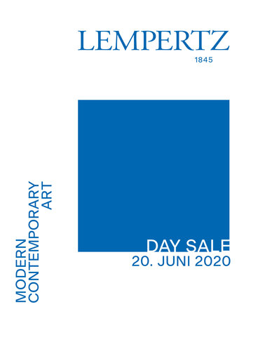 Auction Catalogue 1156 Modern and Contemporary Art - Day Sale, Modern and Contemporary Art - Day Sale