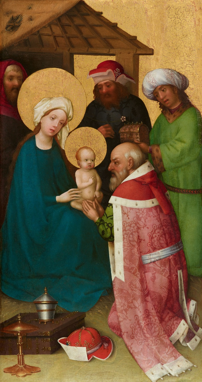 Cologne School around 1450 - The Adoration of the Magi