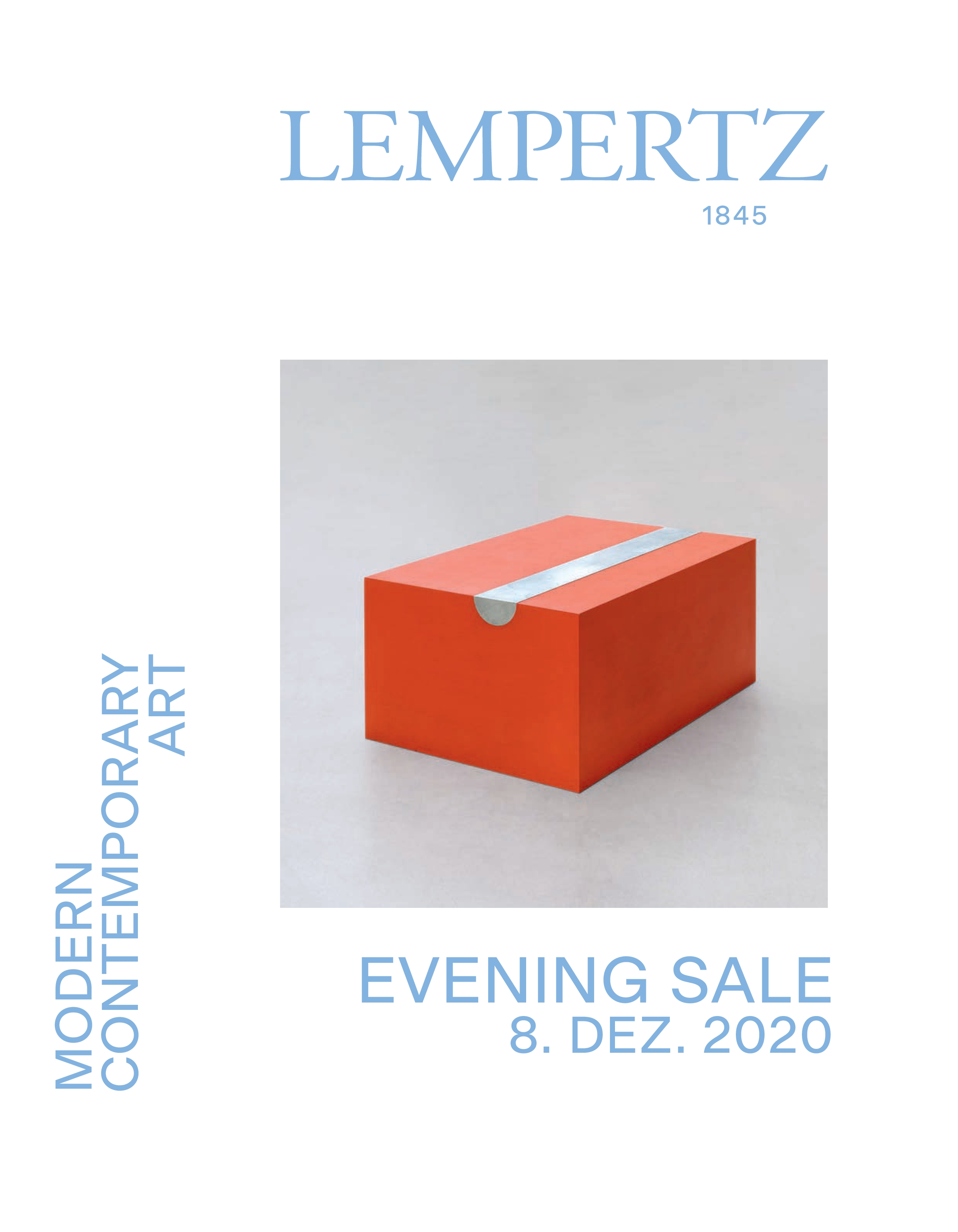 Catalogue - Evening Sale - Modern and Contemporary Art - Online Catalogue - Auction 1162 – Purchase valuable works of art at the next Lempertz-Auction!