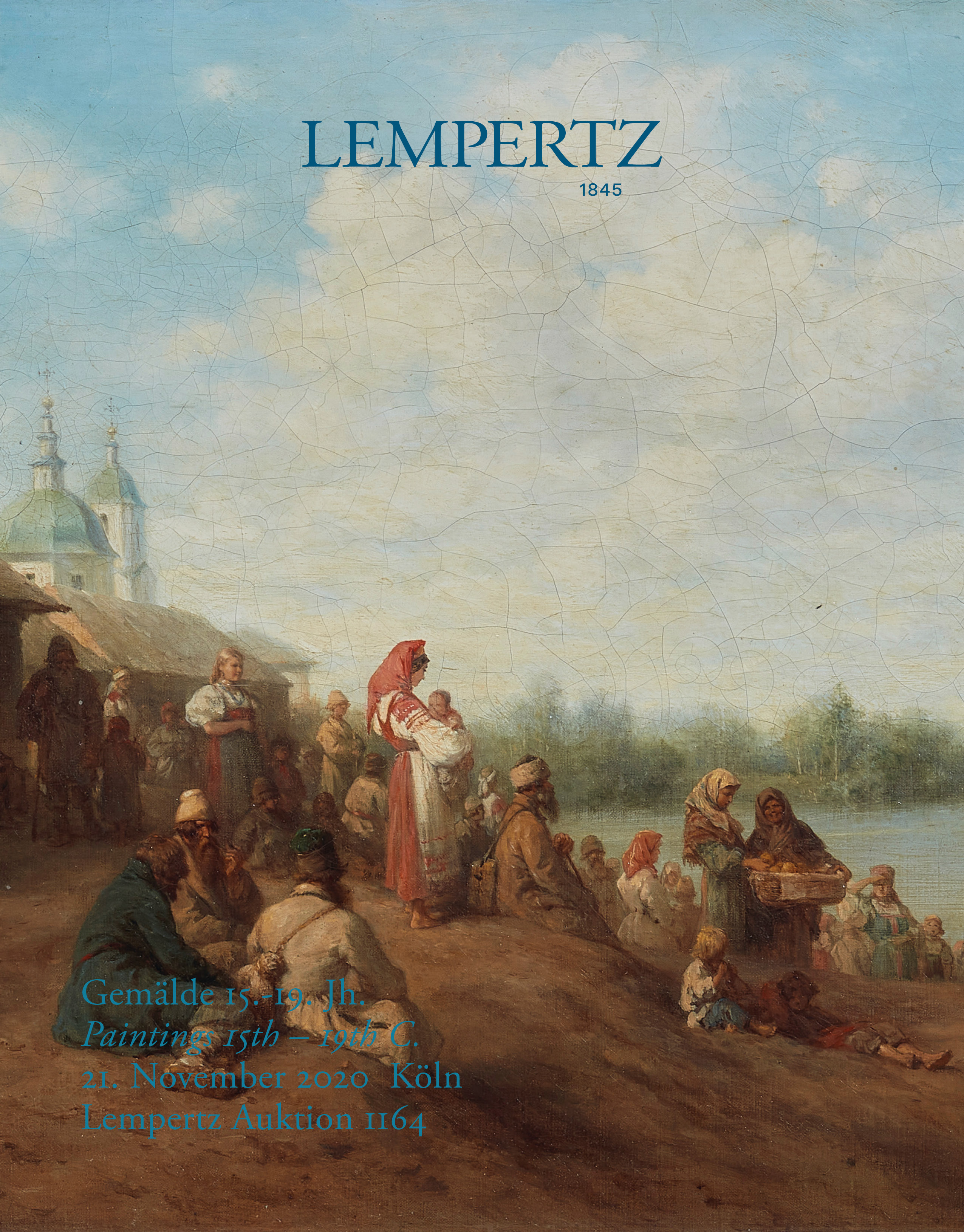 Catalogue - Paintings 15th to 19th Century - Online Catalogue - Auction 1164 – Purchase valuable works of art at the next Lempertz-Auction!