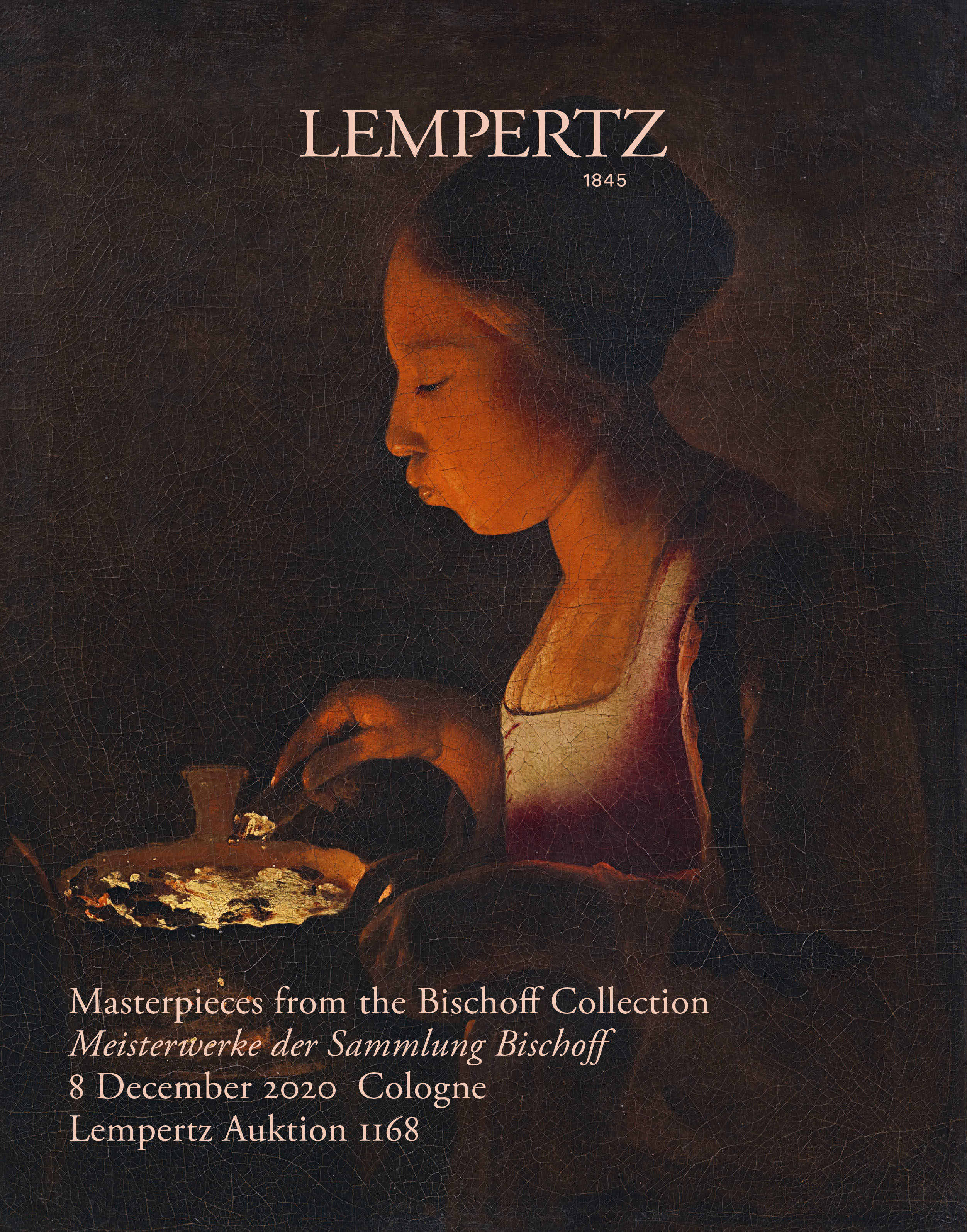 Catalogue - Masterpieces from the Bischoff Collection - Online Catalogue - Auction 1168 – Purchase valuable works of art at the next Lempertz-Auction!